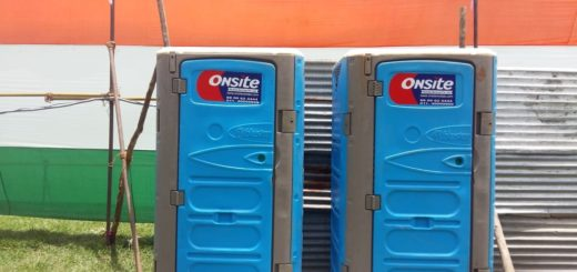 mobile toilets on rent